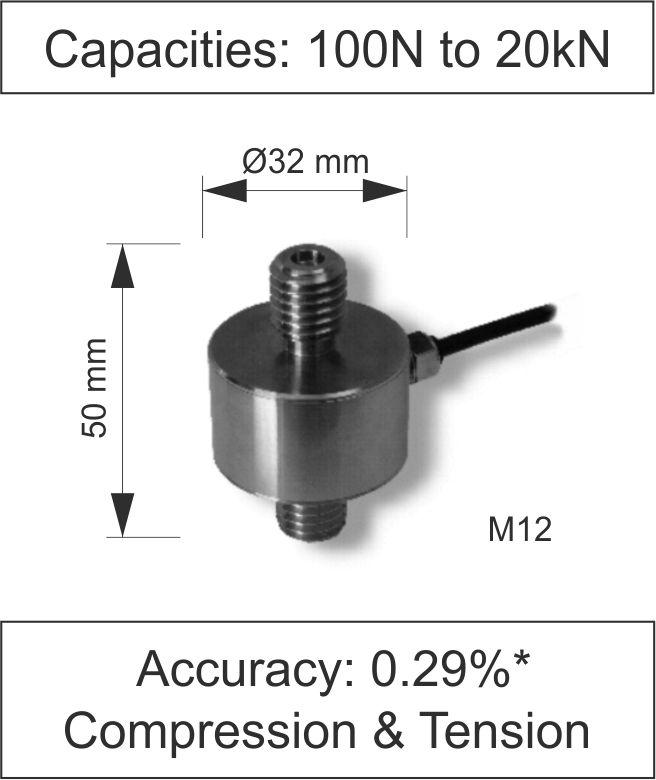 Quick Product In Line Load Cell 200 Series Newton
