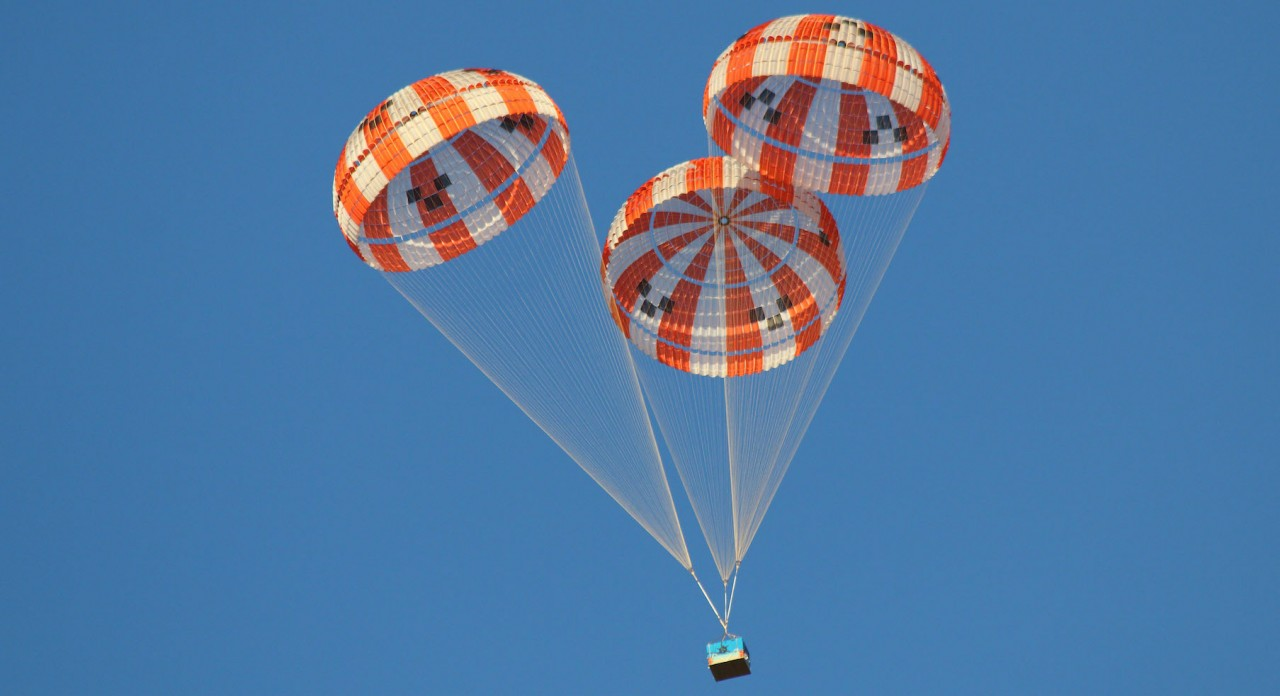 Letting you down gently: load cells and parachute testing