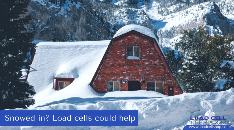 Let it snow: load cells and the white stuff