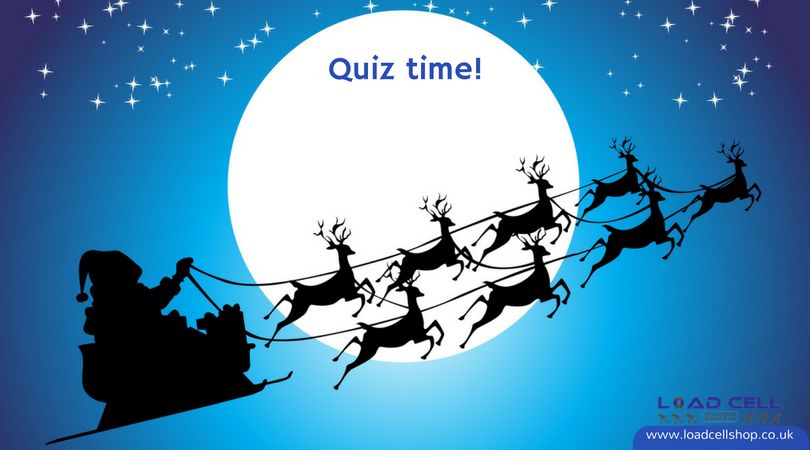 "The ""12 load cells of Christmas"" quiz"