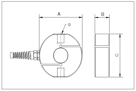 Folded Shear Beam Load Cell