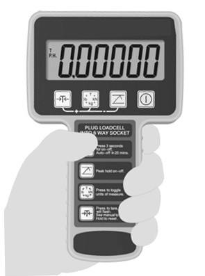 load link wired hand held display 400